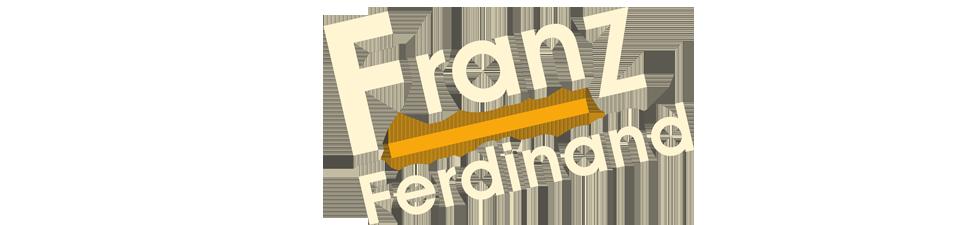 Shop Licensed Franz Ferdinand t-shirts | VolatileMerch.com