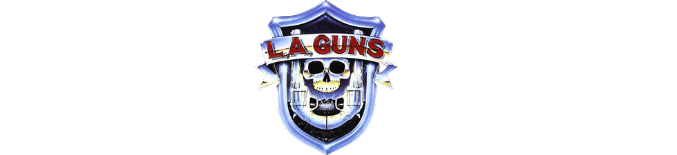 Shop Licensed L.A. Guns T-shirts | VolatileMerch.com