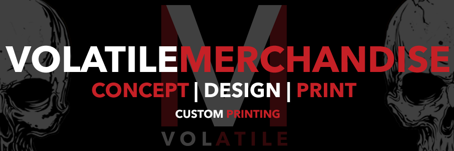 VolatileMerchandise | Concept Design Print | Custom Printing