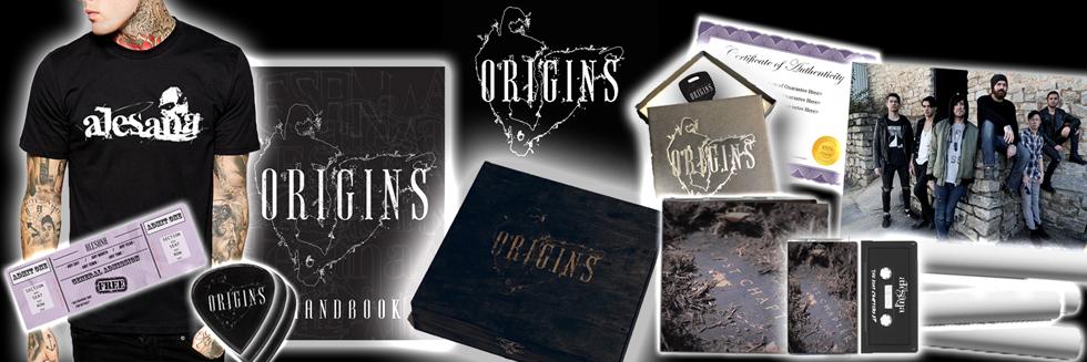 Shop Alesana Origins Box Set | VolatileMerch.com