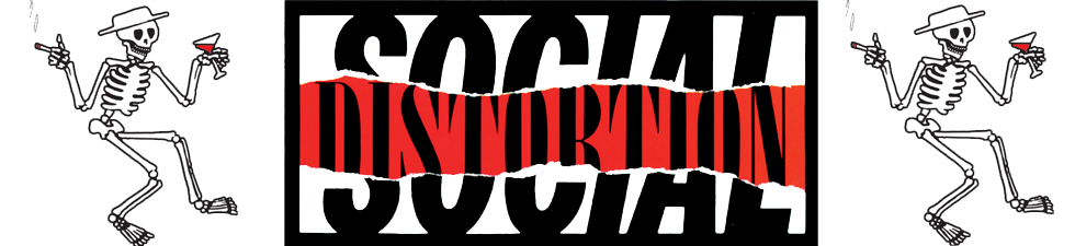 Shop Licensed Social Distortion t-shirts and merchandise | VolatileMerch.com